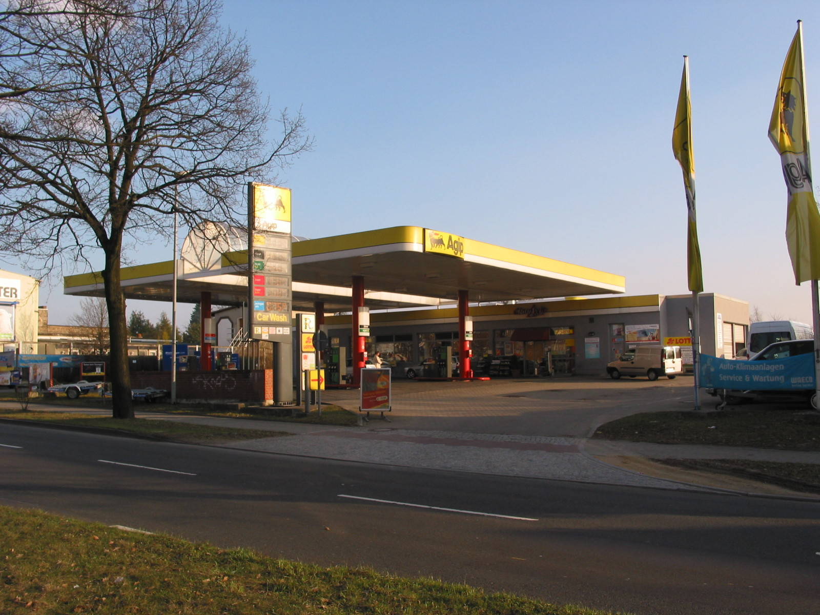 mietstation agip tankstelle berlin mahlsdorf mietdachboxen preiswert mieten in berlin und. Black Bedroom Furniture Sets. Home Design Ideas